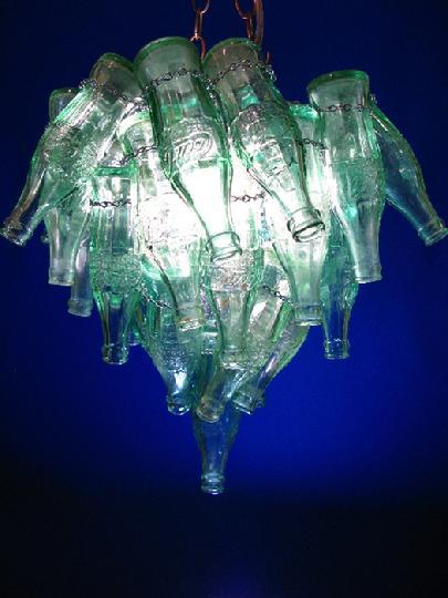 Russ morgan chandeliers vintage coke bottle coke cocacola coke bottle chandelier vintage coke bottle chandelier mozeypictures Choice Image